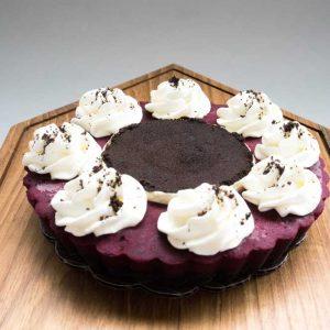 Red Velvet Oreo Pie