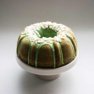 Artisan Cocopandan Bundt cake