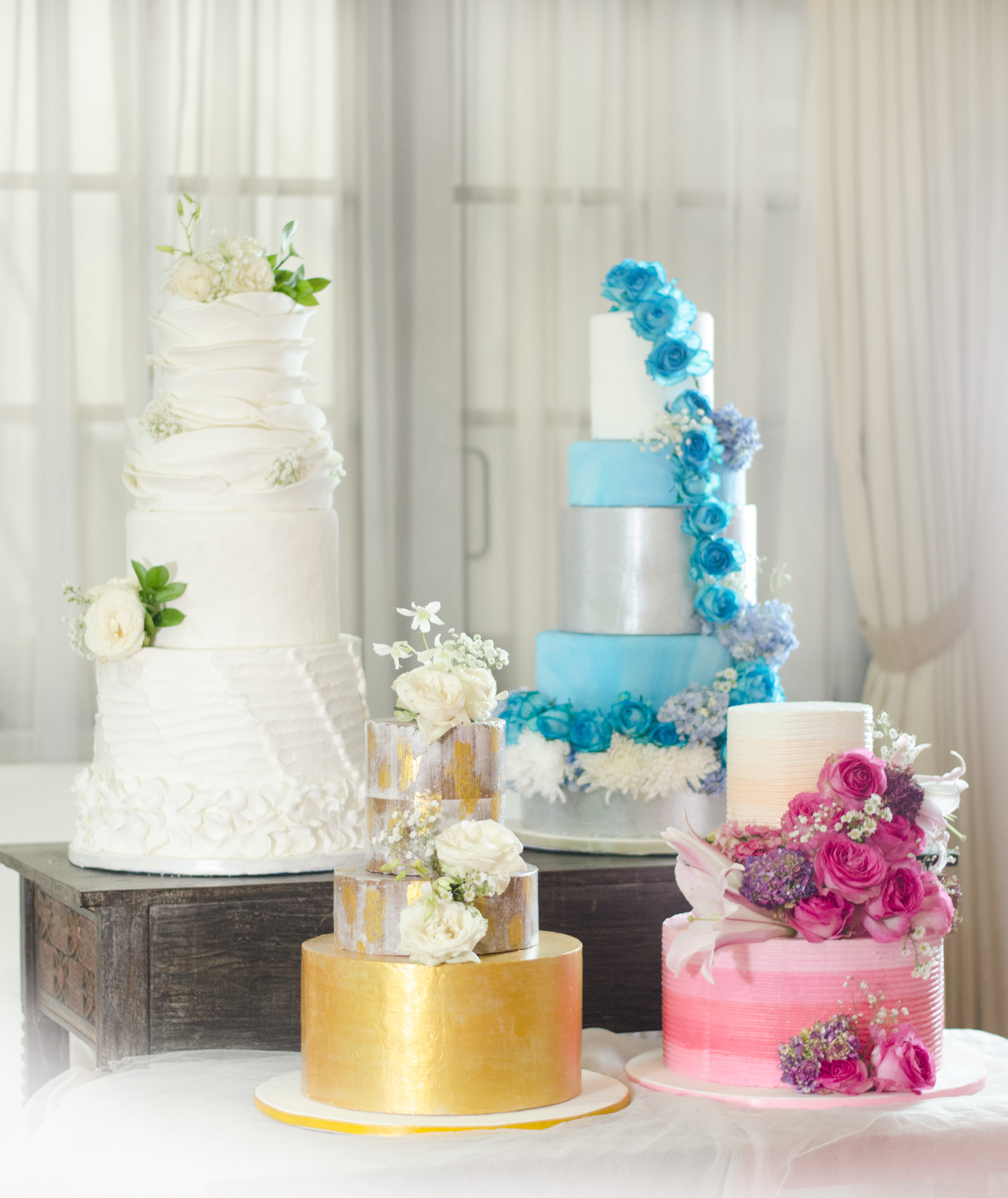 Cupcakes Company   Irresistable Wedding Cakes Package
