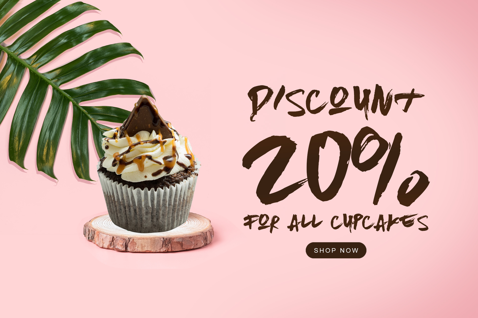 20% OFF ALL CUPCAKES