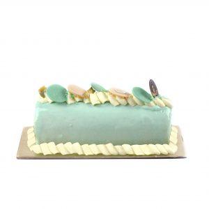 Blue velvet roll cake