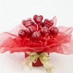 Valentine's cakepops bouquet