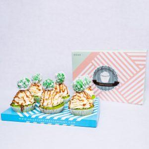 Klepon Cupcakes