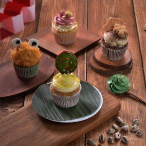 90s cupcake