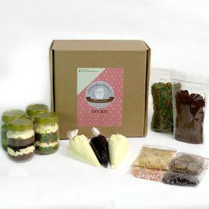 DIY Jar cupcake